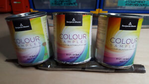 Benjamin Moore colour samples -- Very popular colours!