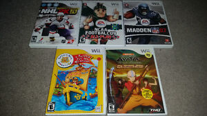 WII GAMES FOR SALE ONLY 5$ EACH WITH WARRANTY SEE my other ads..