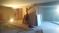 Drywall installation and tapping , best quotes . Cash deals