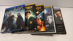 5 DVD dont 1 Blu-Ray de Harry Potter