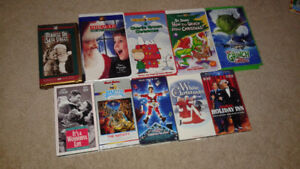 Classic Christmas movies on VHS
