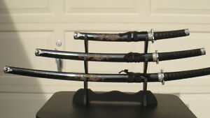 Sword collection 2 sets of 3
