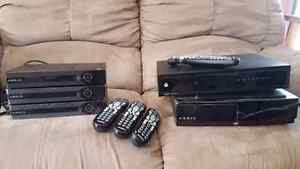 Shaw Arris Gateway, 3 portals and Motorola PVR