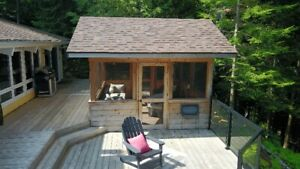 Haliburton Cottage rental on quiet lake Miskwabi
