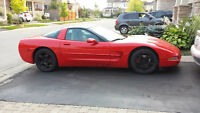2000 Chevrolet Corvette Coupe, Red, Manual, 67000km