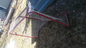 Ball hockey net