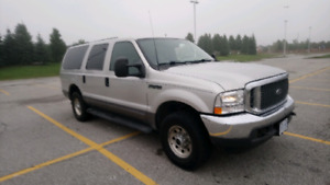 2003 Ford Excursion 6.0 L Diesel Mint Condition Certified