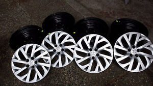 4 NEW 2017 Toyota Corolla Steel Rims and Hubcaps