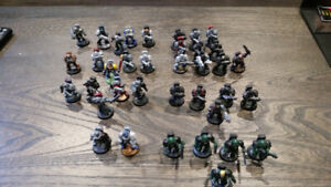 Call of duty mega bloks has warhammer space marine lot