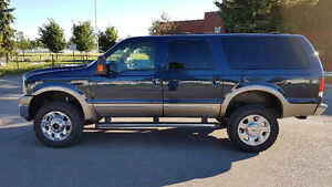 2002 7.3L Powerstroke Diesel Ford Excursion Limited 4x4