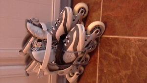 Ladies size 7.5 roller blades