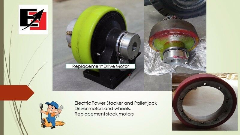 Pallet Stacker & Pallet Jack drive motors and hydraulic powerpacks