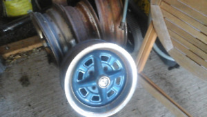 MGB MGA TR6  steel alloy wire disc wheels rims