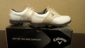 Ladies Callaway saddle golf shoes 7.5