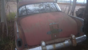 I am looking for old car partial body parts