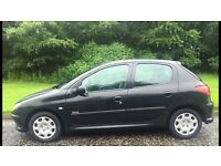 Peugeot 206 urban 1.4L (2006) low miles long mot