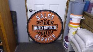 LARGE MOTORCYCLE SIGNS