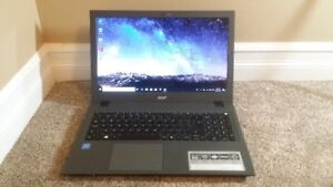 "15.6"" Acer Touch Screen Laptop, Intel CPU, 8 GB RAM, 1.0 TB HDD"