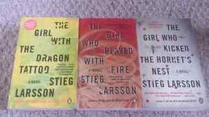 The girl with dragon tattoo book series