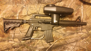 Tippman paintball gun