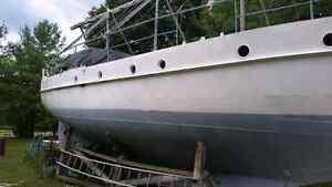 47' sailboat