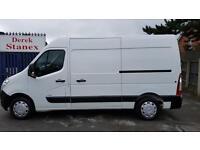 Vauxhall Movano 2.3CDTI ( Euro V ) L2H2 Med Roof Van MWB 3500,74000 MILES,