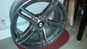 4 mags 19 pouce BMW x3 xdrive 9Jx19 EH2+ 5x120 comme neuf