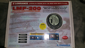 LMF-200 Lowrance multi-function Guage - 150.00