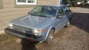 MUST SELL 1983 Nissan Sentra Coupe (2 door)
