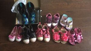 Youth size 8 girl shoes