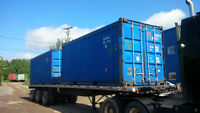 Used 20' Open-Top Shipping Containers
