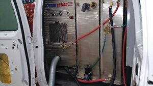 2012 Ford E-250 truckmounted carpet cleaning unit
