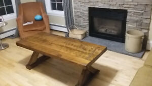 Authentic Rustic Coffee Table