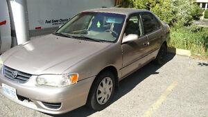 2001 Toyota Corolla Kitchener / Waterloo Kitchener Area image 1