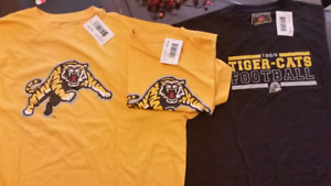 Authentic Tiger cats t-shirts and Assorted hats for sale