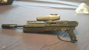 High-end paintball equipment w3 units / accessories / clothing