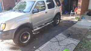 2001 nissan xterra trade for dirt bike or streetbike