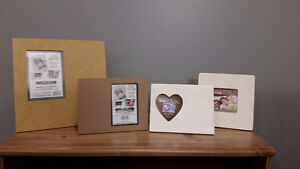 Unfinished Picture Frames for Crafts