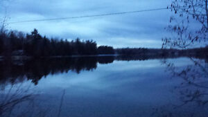 Cottage on sand Lake in Godfrey ont for weekly rent.