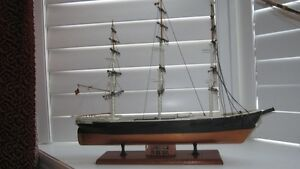 Vintage Sovereign of the Seas Wood Ship Model