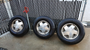 Chevy rims with tires 245/75r16