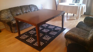 Dining set - large table with chairs - Best Offer Gatineau Ottawa / Gatineau Area image 3