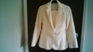 SET OF SUIT & SKIRT 100% PURE WOOL