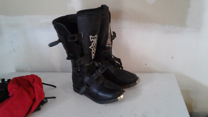Fox MX motocross dirt bike boots like new