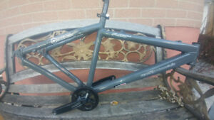 Great condition Rocky mountain flow 1.0 frame and some parts