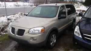2008 pontiac montana sv6 safety and e-test included