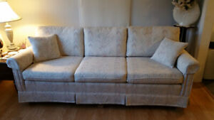 3 seat sofa and 2 wing chairs for sale