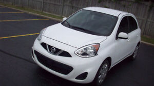 2015 NISSAN MICRA SV PURE DRIVE..AUTOMATIC /LOW KM/SAFETY +ETEST