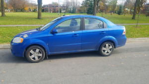 Mint Condition Chevy Aveo 2009