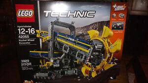 Lego technic excavatrice 42055 NEUF